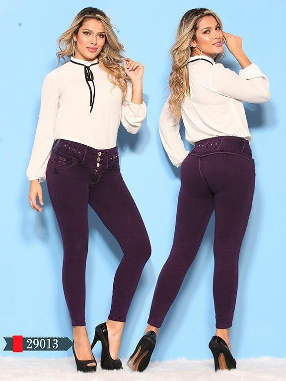 Jeans Levantacola Colombianos D-Luxe - Ref. 264 -29013 D-Luxe