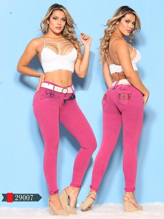 Jeans Levantacola Colombianos D-Luxe - Ref. 264 -29007 D-Luxe