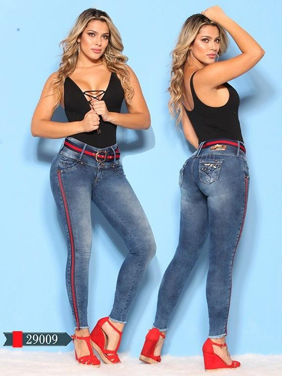 Jeans Levantacola Colombianos D-Luxe - Ref. 264 -29009 D-Luxe