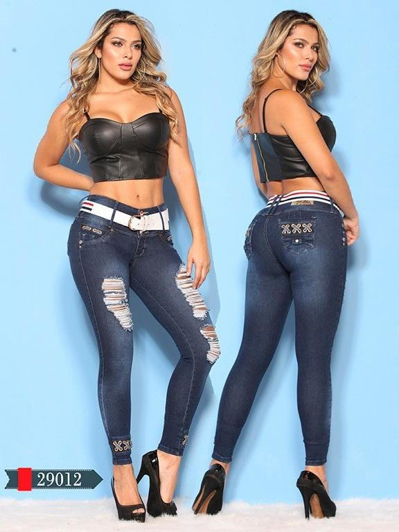 Jeans Levantacola Colombianos D-Luxe - Ref. 264 -29012 D-Luxe