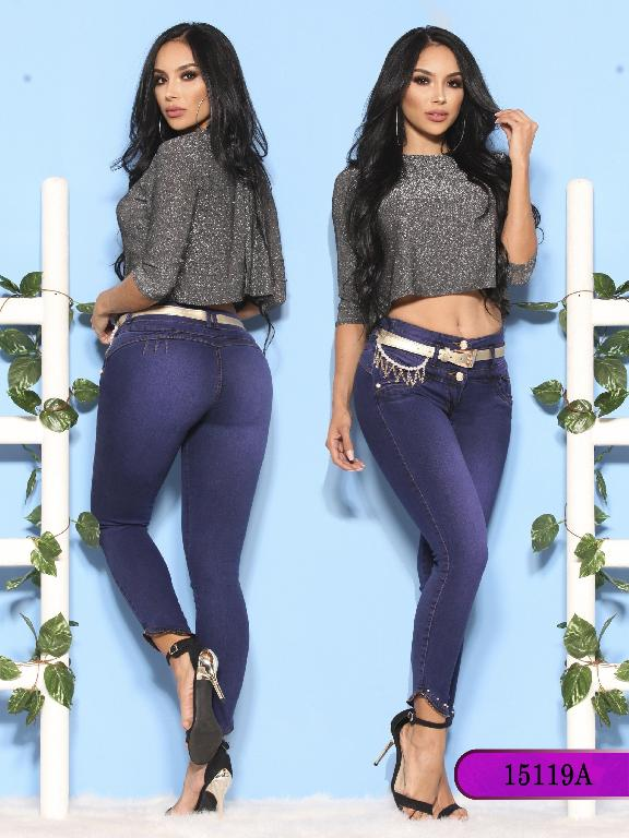 Jeans Levantacola Colombiano Ambar  - Ref. 234 -15119-A