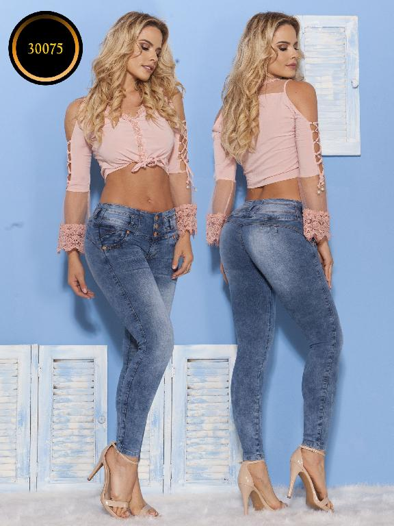 Jeans LevantaCola Colombiano Thaxx  Essentials - Ref. 119 -30075 TE