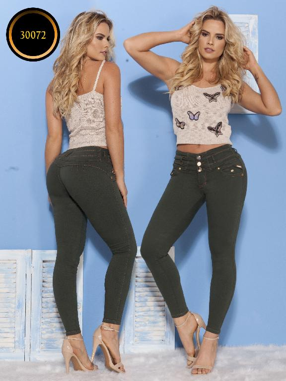Jeans LevantaCola Colombiano Thaxx  Essentials - Ref. 119 -30072 TE