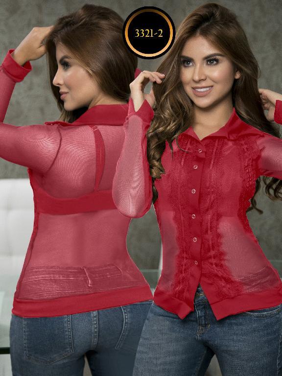 Blusa Moda Colombiana Thaxx  - Ref. 119 -3321-2