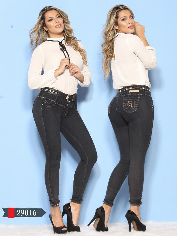 Jeans Levantacola Colombianos D-Luxe - Ref. 264 -29016 D-Luxe