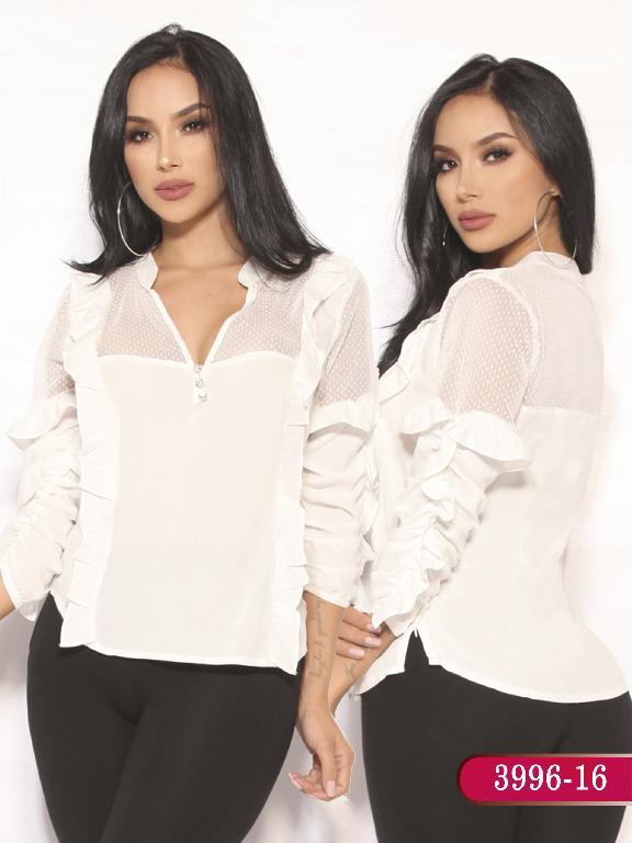Blusa Moda Colombiana Vikats  - Ref. 252 -3996-16 Beige