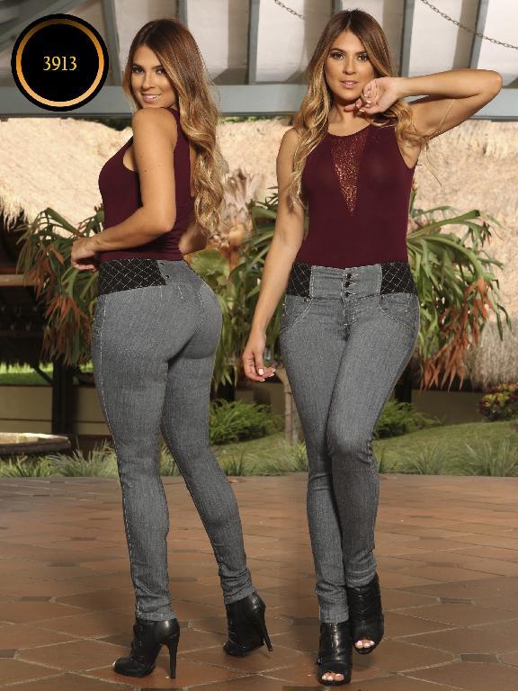 Jeans Levantacola Colombiano Cokette - Ref. 119 -3913 CK