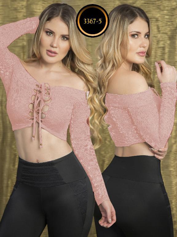 Blusa Moda Colombiana Thaxx  - Ref. 119 -3367-5 Rosado