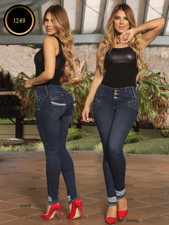 Jeans Levantacola Colombiano Thaxx Boutique - Ref. 119 -1249 TB PLUS