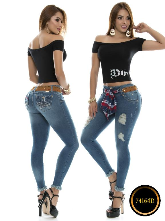 Levantacola Colombiano Do Jeans  - Ref. 248 -74164 D