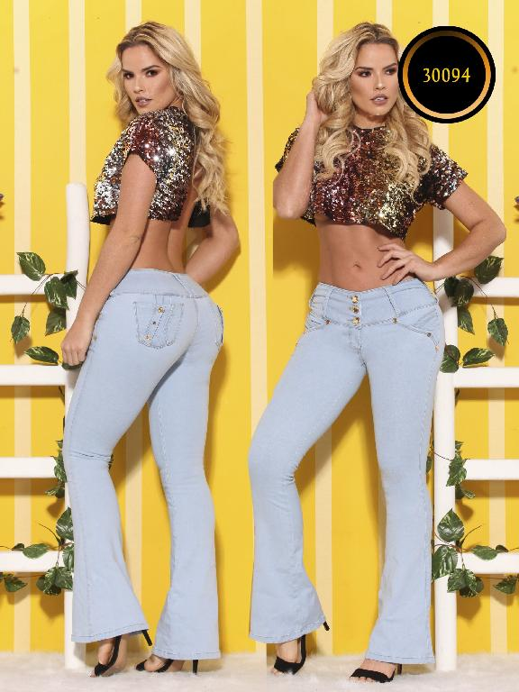 Jeans LevantaCola Colombiano Thaxx  Essentials - Ref. 119 -30094 TE