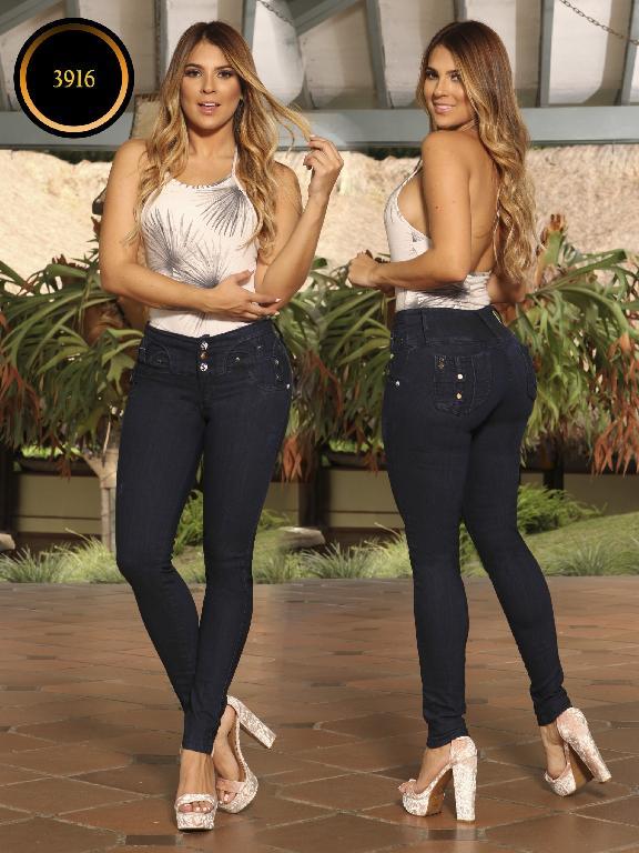 Jeans Levantacola Colombiano Cokette - Ref. 119 -3916 CK