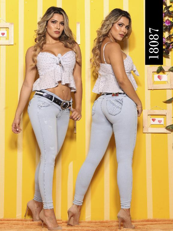 Jeans Levantacola Colombiano Dinasty - Ref. 249 -18087-DY