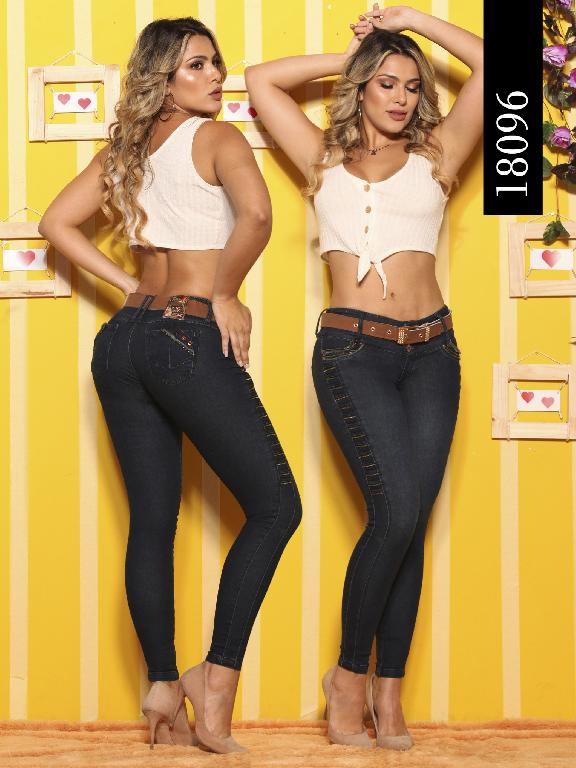 Jeans Levantacola Colombiano Dinasty - Ref. 249 -18096-DY