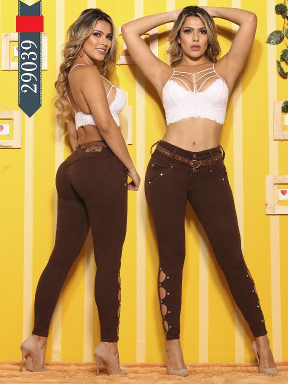Jeans Levantacola Colombianos D-Luxe - Ref. 264 -29039 D-Luxe
