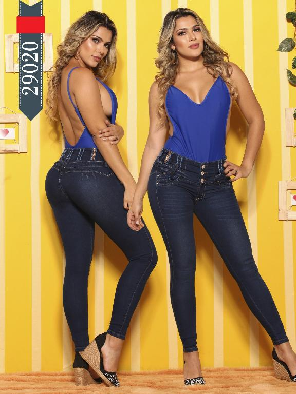 Jeans Levantacola Colombianos D-Luxe - Ref. 264 -29020 D-Luxe