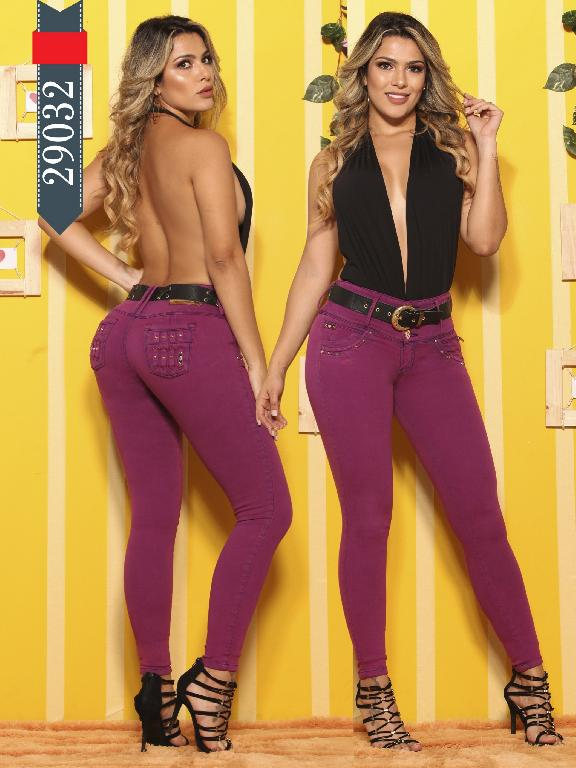 Jeans Levantacola Colombianos D-Luxe - Ref. 264 -29032 D-Luxe