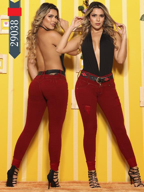 Jeans Levantacola Colombianos D-Luxe - Ref. 264 -29038 D-Luxe