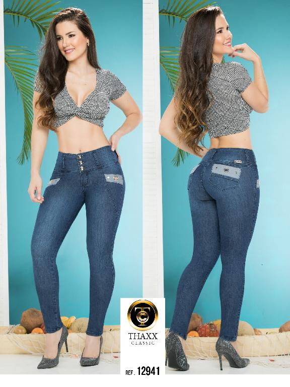 Jeans LevantaCola Colombiano Thaxx Classic - Ref. 119 -12941 TC