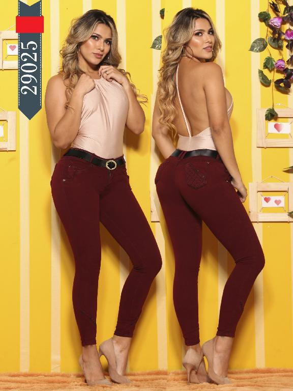 Jeans Levantacola Colombianos D-Luxe - Ref. 264 -29025 D-Luxe