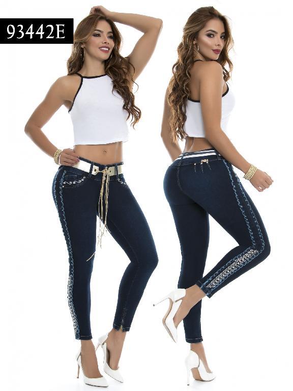Jeans Levantacola Colombiano Ene 2 - Ref. 243 -93442-E