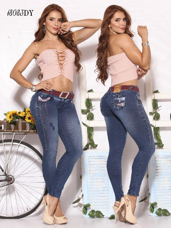 Jeans Levantacola Colombiano Dinasty - Ref. 249 -18083 DY