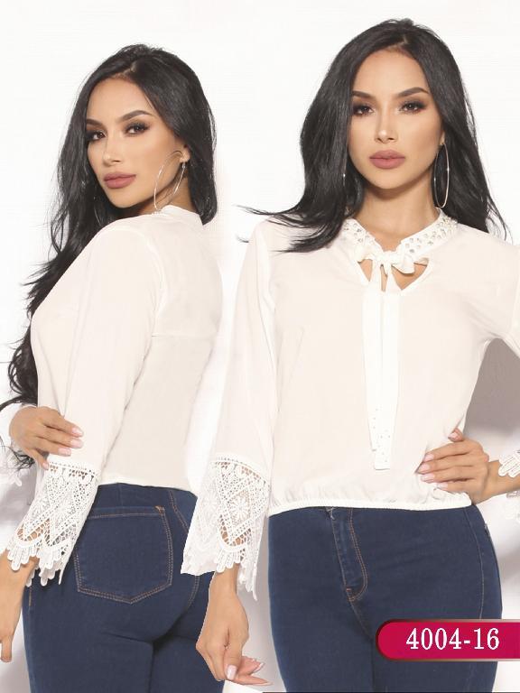Blusa Moda Colombiana Vikats - Ref. 252 -4004-16 Beige