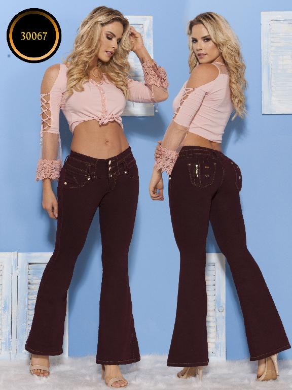 Jeans LevantaCola Colombiano Thaxx  Essentials - Ref. 119 -30067 TE