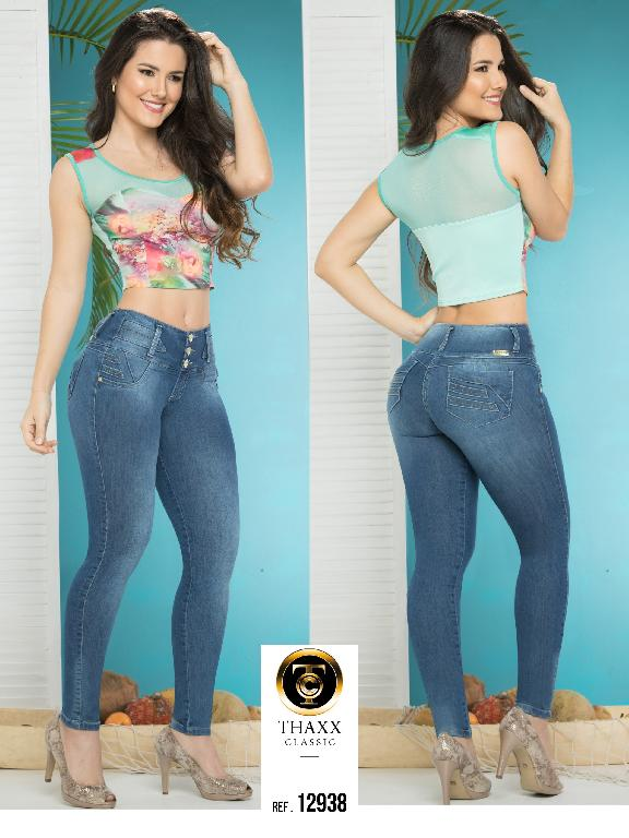 Jeans LevantaCola Colombiano Thaxx Classic - Ref. 119 -12938 TC