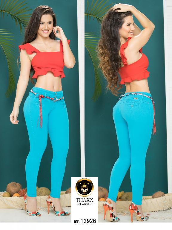 Jeans LevantaCola Colombiano Thaxx Classic - Ref. 119 -12926TC