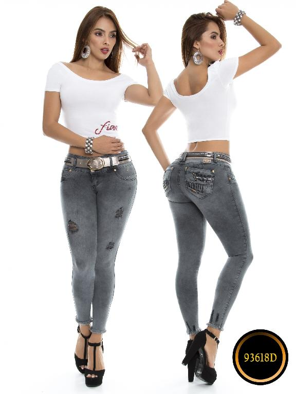 Jeans Levantacola Colombiano DO - Ref. 248 -93618-D