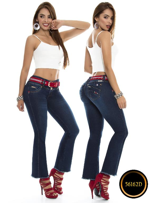 Jeans Levantacola Colombiano DO - Ref. 248 -56162-D