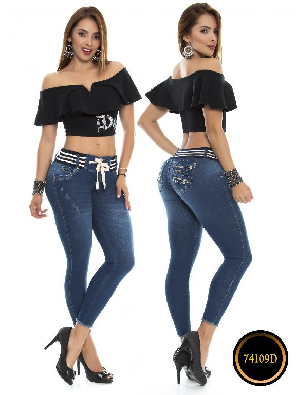 Jeans Levantacola Colombiano DO - Ref. 248 -74109-D