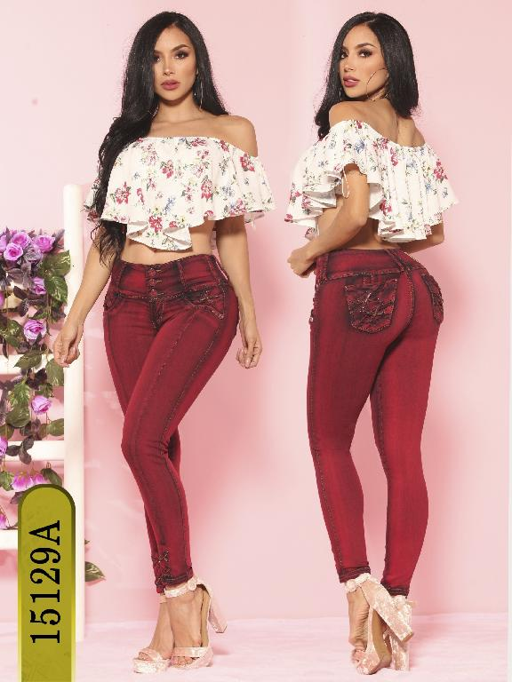 Jeans Levantacola Colombiano Ambar  - Ref. 234 -15129-A