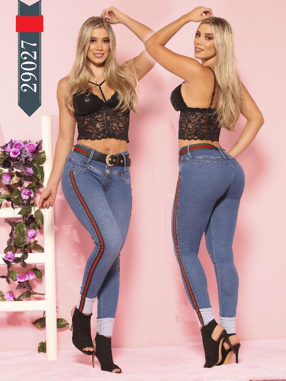Jeans Levantacola Colombianos D-Lux - Ref. 264 -29027 D-Luxe