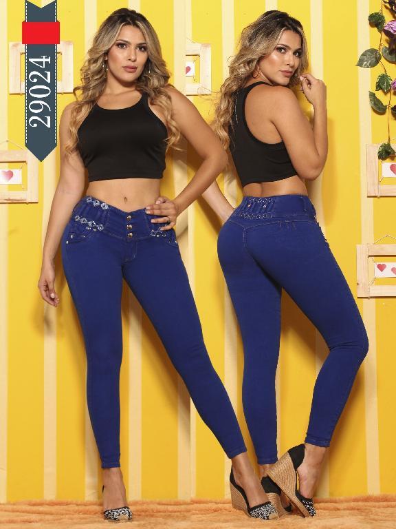 Jeans Levantacola Colombianos D-Lux - Ref. 264 -29024 D-Luxe