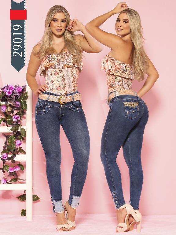 Jeans Levantacola Colombianos D-Lux - Ref. 264 -29019 D-Luxe