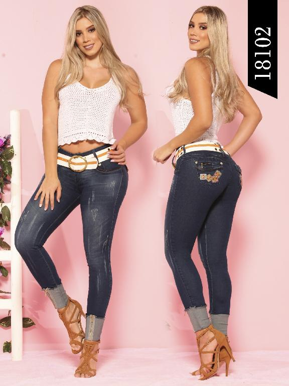 Jeans Levantacola Colombiano Dinasty - Ref. 249 -18102 DY