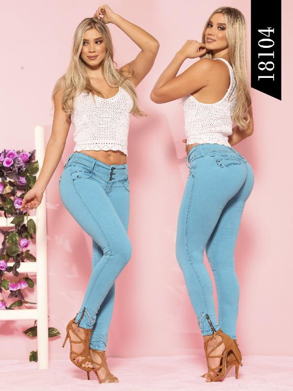Jeans Levantacola Colombiano Dinasty - Ref. 249 -18104 DY