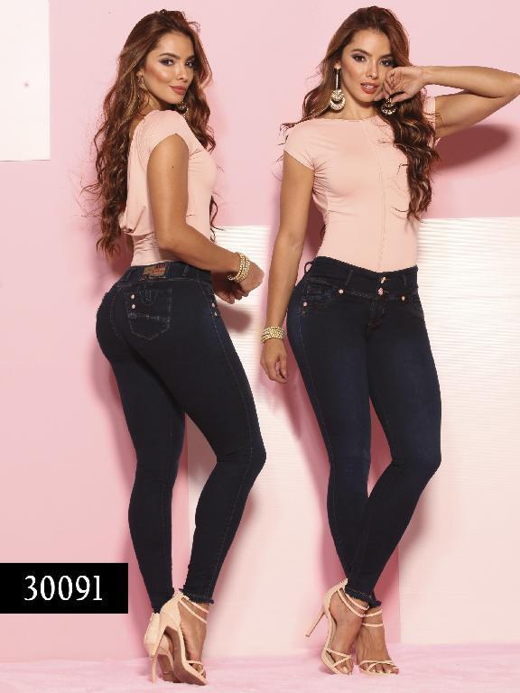 Jeans LevantaCola Colombiano Thaxx  Essentials - Ref. 119 -30091 TE