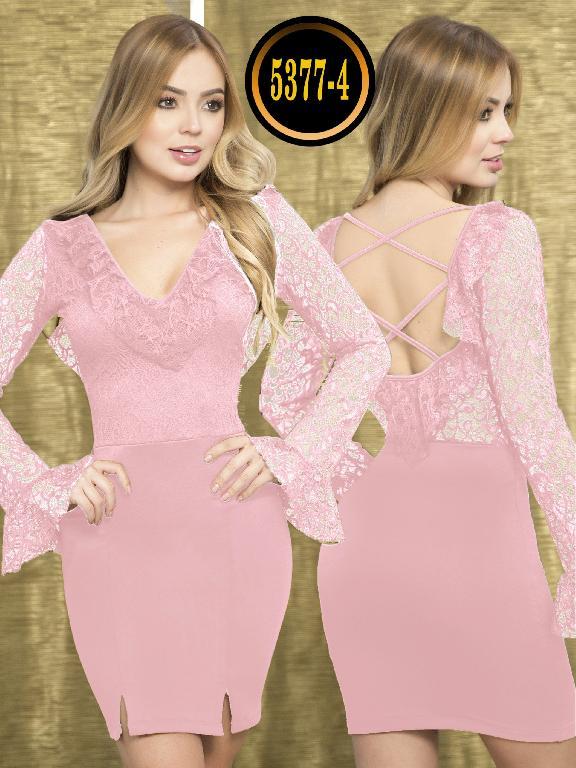 Vestido Moda  Colombiana Thaxx - Ref. 119 -5377-4 Rosado