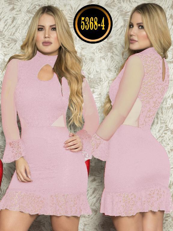Vestido Moda  Colombiana Thaxx - Ref. 119 -5368-4 Rosado
