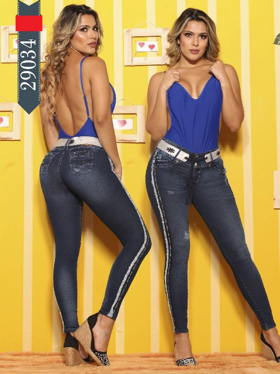 Jeans Levantacola Colombianos D-Lux - Ref. 264 -29034 D-Luxe