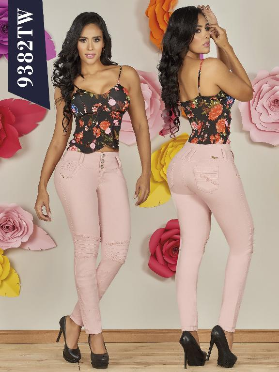 Jeans Levantacola Colombiano Top Women  - Ref. 123 -9382 TW