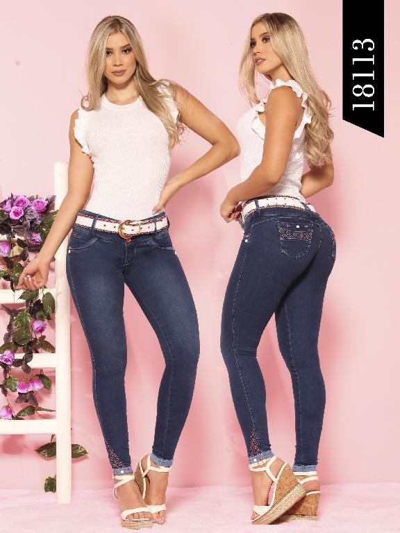 Jeans Levantacola Colombiano Dinasty  - Ref. 249 -18113 DY