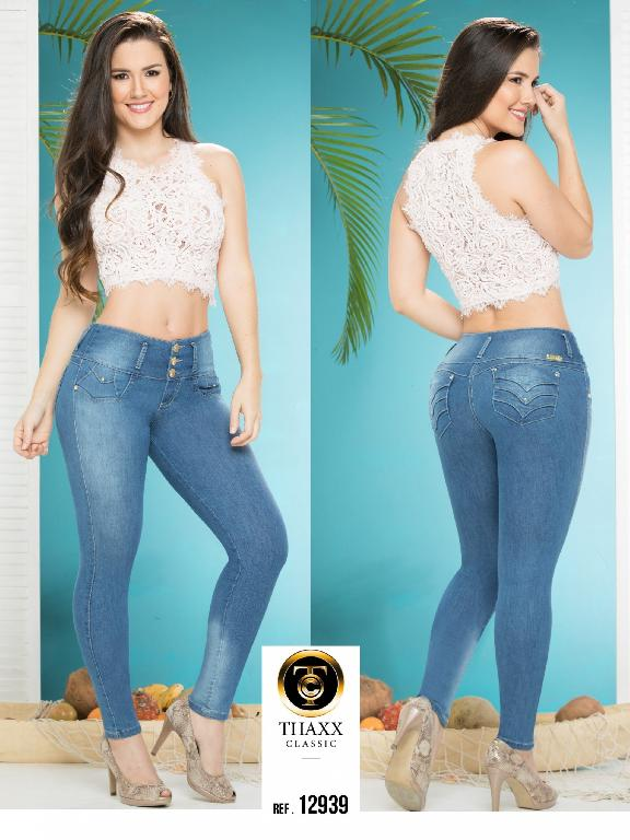 Jeans LevantaCola Colombiano Thaxx Classic - Ref. 119 -12939 TC