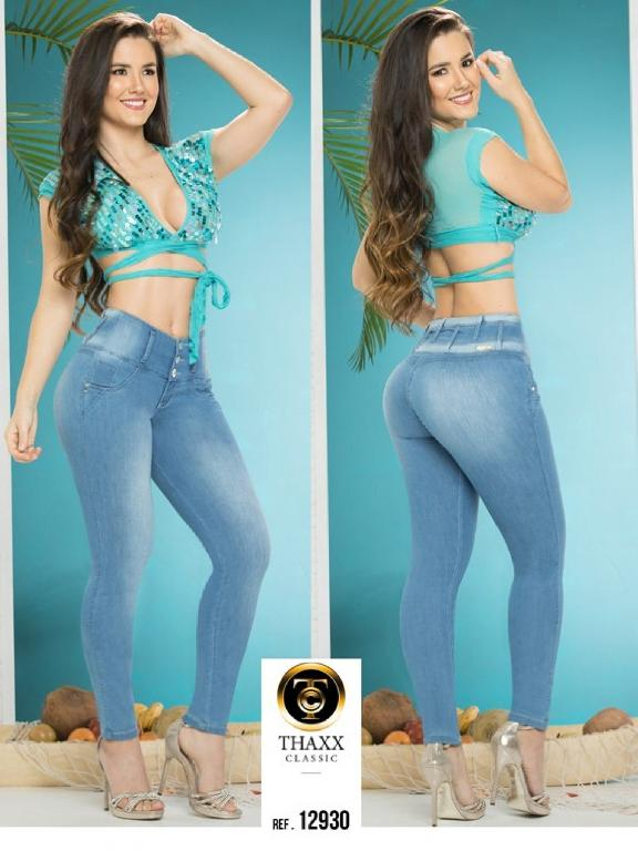 Jeans LevantaCola Colombiano Thaxx Classic - Ref. 119 -12930 TC