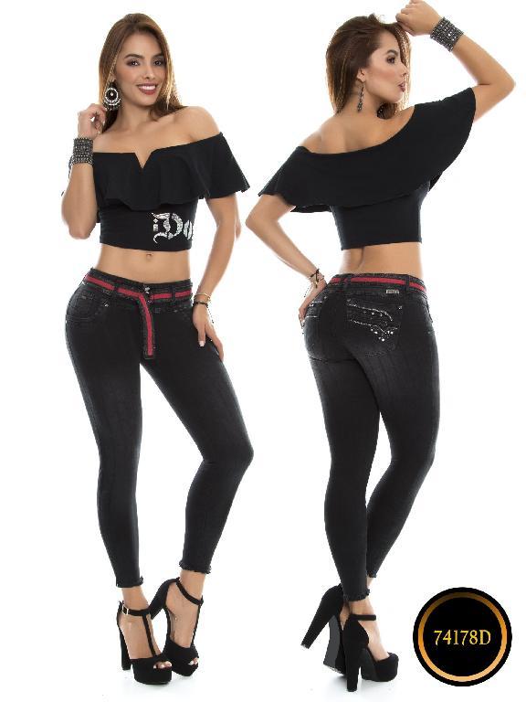 Jeans Levantacola Colombiano DO