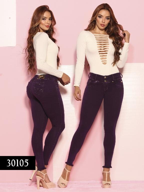 Jeans LevantaCola Colombiano Thaxx  Essentials - Ref. 119 -30105 TE
