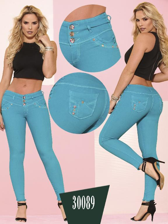 Jeans LevantaCola Colombiano Thaxx  Essentials - Ref. 119 -30089 TE